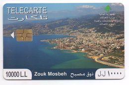 Zouk Mosbeh 2010 Used Phonecard Lebanon , Liban Telecarte Libanon - Lebanon