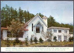 Japon - 1980 - Osaka - Ohinata Catholic Chruch Karuizawa - Nagano - Ecrite, Circulée, Postée à Hong Kong - 2280 - Giappone