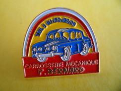 Pins Pin's Auto Coiture Renault 4 Cv Ou Dauphine Carrosserie Mecanique Garage P. BERNARD : Tél : 61536736 Haute Garonne - Renault