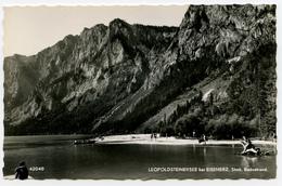 Leopoldsteinersee Bei Eisenerz Old Postcard 1957 Not Travelled B171025 - Eisenerz