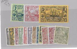 Nouvelle-Calédonie N° 88 à 104** Sans Le 96 Et 100 - Nouvelle-Calédonie