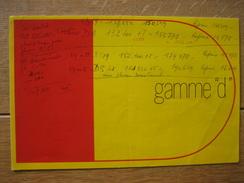 """Dépliant Publicitaire De 1967 CITROEN Gamme """"d"""" DS 19 - DS 21 - ID 19 - BREAK 19 - BREAK 21 - Voitures"""