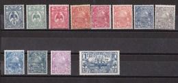 Nouvelle-Calédonie N°114 à 125** - Nouvelle-Calédonie