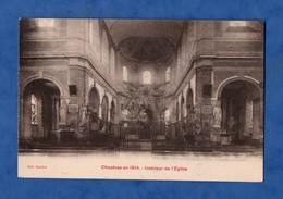 80 Somme Chaulnes En 1914 Interieur De L ' Eglise - Chaulnes