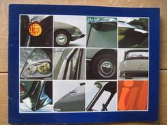 Beau Catalogue Publicitaire De 1967 CITROËN ID 19 - Voitures
