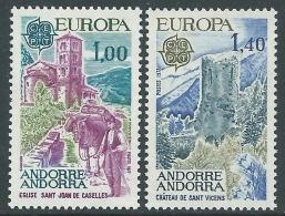 1977 EUROPA CEPT ANDORRA FRANCESE MNH ** - R36-2 - Europa-CEPT