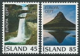 1977 EUROPA CEPT ISLANDA MNH ** - R36-3 - Europa-CEPT
