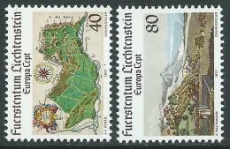1977 EUROPA CEPT LIECHTENSTEIN MNH ** - R36-3 - 1977