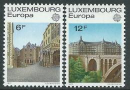 1977 EUROPA CEPT LUSSEMBURGO MNH ** - R36-3 - 1977
