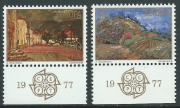 1977 EUROPA CEPT JUGOSLAVIA MNH ** - R36-4 - 1977