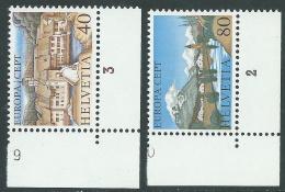 1977 EUROPA CEPT SVIZZERA MNH ** - R36-7 - Europa-CEPT