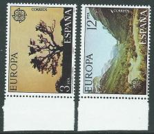 1977 EUROPA CEPT SPAGNA MNH ** - R36-7 - 1977