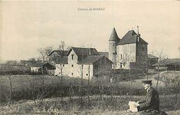 MONTCEAU LES MINES CHATEAU DE BARRAT - Montceau Les Mines