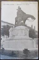 Chalon Sur Saone - Monument De La Défense - FM - Tampon Dépôt De Convalescents 84 - Chalon Sur Saone