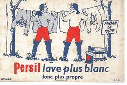 Buvard Persil Lave Plus Blanc Donc Plus Propre. (Fanfan La Tulipe) (Lessive, ...) - Parfums & Beauté