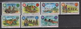 Grenadines Of GRENADA 215-21 – Scoutisme – Jamboree 1977-  USED - Grenade (1974-...)
