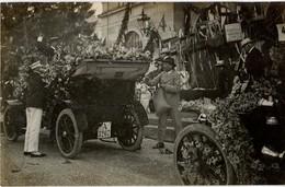 AK D BW BADEN-BADEN Blumen Corso 1906  Ges. 23-09-1906 Photo Theodor Busam - Baden-Baden