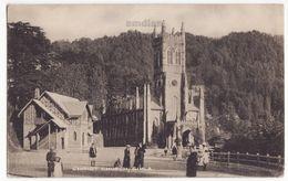 India, Christ Church Simla / Shimla C1910s Vintage Postcard M8737 - India