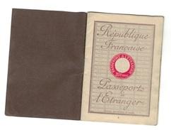 PASSEPORT - Historische Documenten