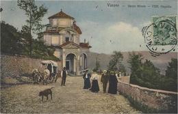 VARESE - Sacro Monte - VIII. Capella  - Colored -ed. Brunner & C. Como E Zurich - Varese