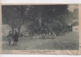 Cpa.30.Notre Dame De Prime-Combe Par Fontanès.Esplanade Du Sacré-Coeur.animé Enfants - France