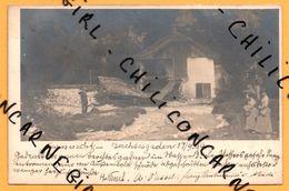 Carte Photo - Laroswacht Berchtesgaden - Ruine De L'effondrement D'un Maison - Par Les Proprio ?? - Animée - 1899 - Sonstige
