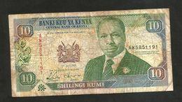 KENYA - CENTRAL BANK Of KENYA - 10 SHILLINGS (1993) - D. TOROITICH ARAP MOI - Kenia