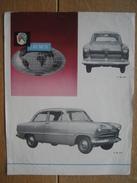 Publicité De 1955 Automobile FORD TAUNUS - Voitures