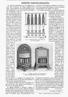 CHEMINEES  RADIO-INCANDESCENTES  1906 - Sciences & Technique