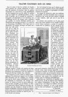 TRACTION ELECTRIQUE DANS LES MINES   1906 - Non Classificati