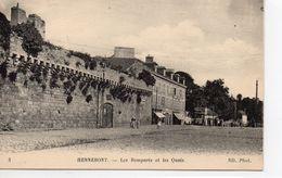 Hennebont Animée Les Remparts Les Quais - Hennebont