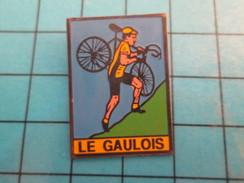 Pin0113b  Pin's Pins / Beau Et Rare : SPORT / CYCLISME VELO LE GAULOIS CYCLO-CROSS - Golf