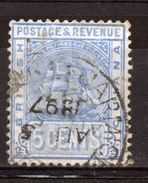 British Guiana 5 Cent Fine Used Stamp From 1907. - British Guiana (...-1966)