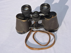 BELLES JUMELLES 10 X 40 GRAND ANGLE - LUMINOR - SAINT ETIENNE - FRANCE 1940 - Optique