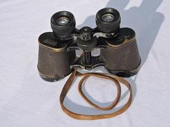 BELLES JUMELLES 10 X 40 GRAND ANGLE - LUMINOR - SAINT ETIENNE - FRANCE 1940 - Optics