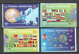Bosnia Herzegovina 2005 Mi 419-422B MNH EUROPA CEPT - Bosnia And Herzegovina