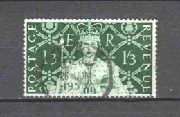 Great Britain 1953 Mi 276 Canceled - Used Stamps
