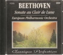 """CD     Beethoven  """"  Sonate Au Clair De Lune """"  European Philamornic Orchestra    Avec  8  Titres - Klassik"""