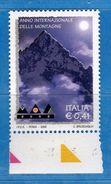 Italia ** - Anno 2002 - ANNO Delle MONTAGNE . Unif. 2642.    Vedi Descrizione. - 2001-10:  Nuovi