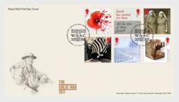 Groot-Brittannië / Great Britain - Postfris / MNH - FDC WO I 2017 - 1952-.... (Elizabeth II)