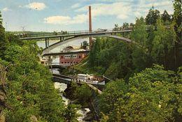 Håverud. Dalslands Kanal /channel,Akvedukten,Aqueduct - Sweden