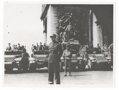 Libération De Paris - General KOENING - Photographie - 25 Aout 1944   USIS - Guerre, Militaire