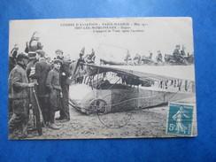HAUTS DE SEINE  92  ISSY-LES-MOULINEAUX   AVIATION   - APPAREIL DE TRAIN APRES L' ACCIDENT  PARIS-MADRID  MAI 1911   TTB - Issy Les Moulineaux