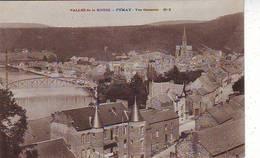 08. FUMAY . VALLEE DE LA MEUSE . VUE GENERALE N: 2 . Editeur J. WINLING COSSET - Fumay