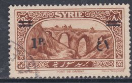 Syrie N° 199 O Sites : 1 Pi Sur 3 Pi Brun Oblitération Légère Sinon TB - Syria (1919-1945)