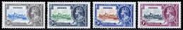 Nigeria 1935 Silver Jubilee MNH/MH Set SG 30/33 Cat £14 - Nigeria (...-1960)