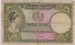 Letzeburg 50 Grande Duchesse Charlotte - Luxembourg