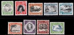 Niue 1944-1946 MH Set SG 89/97 Cat £40 - Niue