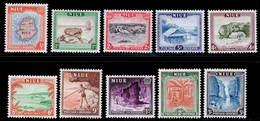 Niue 1950 MNH Set SG 113/122 Cat £15 - Niue