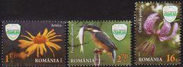 2016: Rumänien Mi.Nr. 7115, 7121 + 7122 Gest. (d258) / Roumanie MiNo. 7115, 7121 + 7122 Obl. - 1948-.... Repubbliche